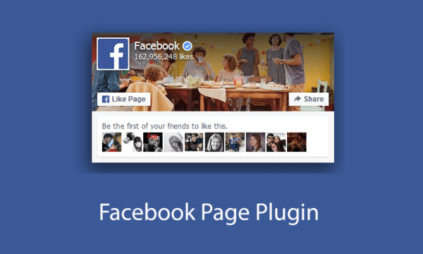 Facebook Page Plugin - makes it easy to promote your Facebook activity on your website and drive engagement on social media.