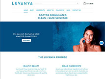 Luvanya - Project carried out by Nerdpilots on the Shopify e-commerce platform